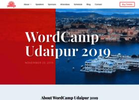 udaipur.wordcamp.org