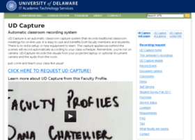 udcapture.udel.edu