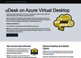 udesk.appstate.edu