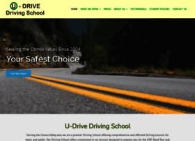 udrivedrivingschool.com