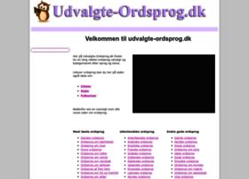 udvalgte-ordsprog.dk
