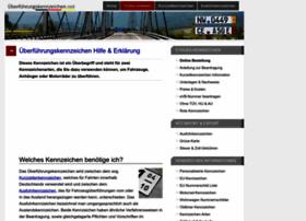 ueberfuehrungskennzeichen.net