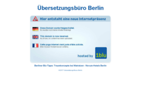 uebersetzungs-buero.berlin