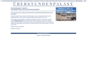 ueberstundenpalast.com