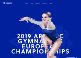 ueg-gymnastics.com