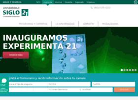 uesiglo21.edu.ar
