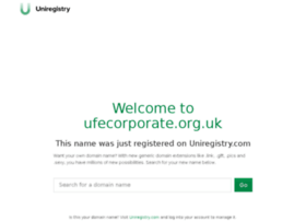 ufecorporate.org.uk