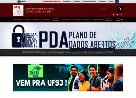 ufsj.edu.br