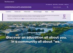 ugadmission.northwestern.edu
