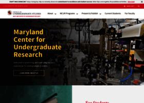 ugresearch.umd.edu
