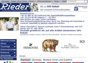 uhren-rieder-shop.ch