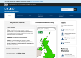uk-air.defra.gov.uk