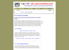 uk-universities.net