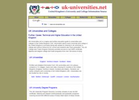 uk-universities.net