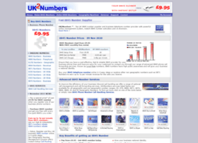 uk2numbers.co.uk