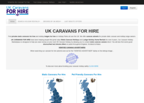 ukcaravansforhire.co.uk