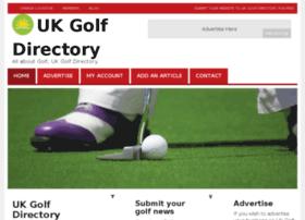 ukgolfdirectory.com