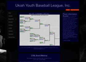 ukiahyouthbaseball.com