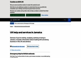 ukinjamaica.fco.gov.uk