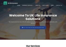 uklifeinsurancesolutions.co.uk