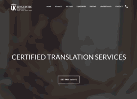 uklinguisticservices.co.uk