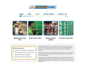 uklockerhire.com
