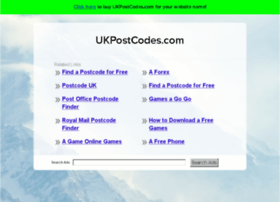 ukpostcodes.com