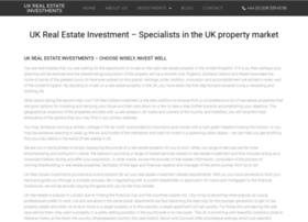 ukrealestateinvestments.co.uk