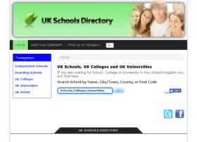 ukschoolsdirectory.net