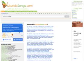 ukulelesongs.com