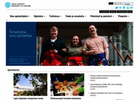 ulapland.fi