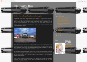 ulcpartybusrental.blogspot.in