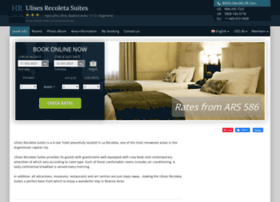 Ulises-recoleta-suites.h-rez.com