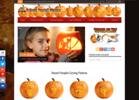 ultimate-pumpkin-stencils.com