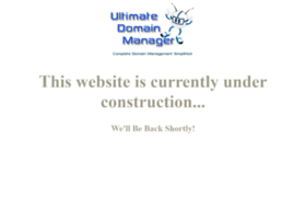 ultimatedomainmanager.com