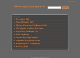 ultimategiftpackage.info