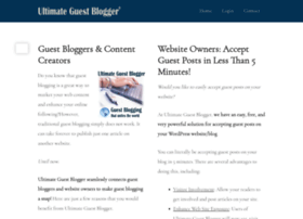 ultimateguestblogger.com