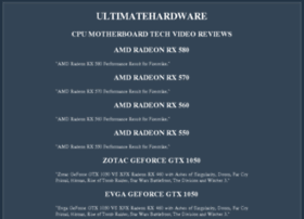 ultimatehardware.net