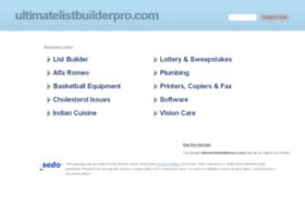 ultimatelistbuilderpro.com