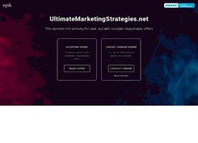 ultimatemarketingstrategies.net