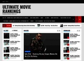ultimatemovierankings.com