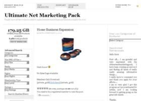 ultimatenetmarketingpack.com