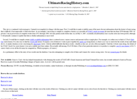 ultimateracinghistory.com