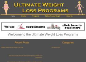 ultimateweightlossprograms.com