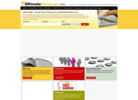 ultimatewhitepages.org