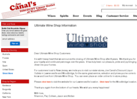 ultimatewineshop.com