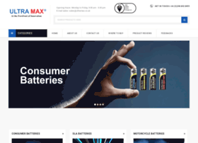 ultramaxbatteries.com