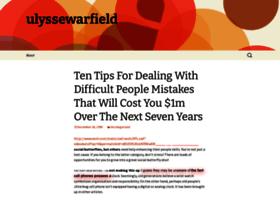 ulyssewarfield.wordpress.com
