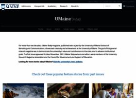 umainetoday.umaine.edu
