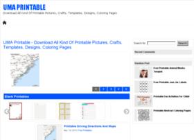 umaprintable.info